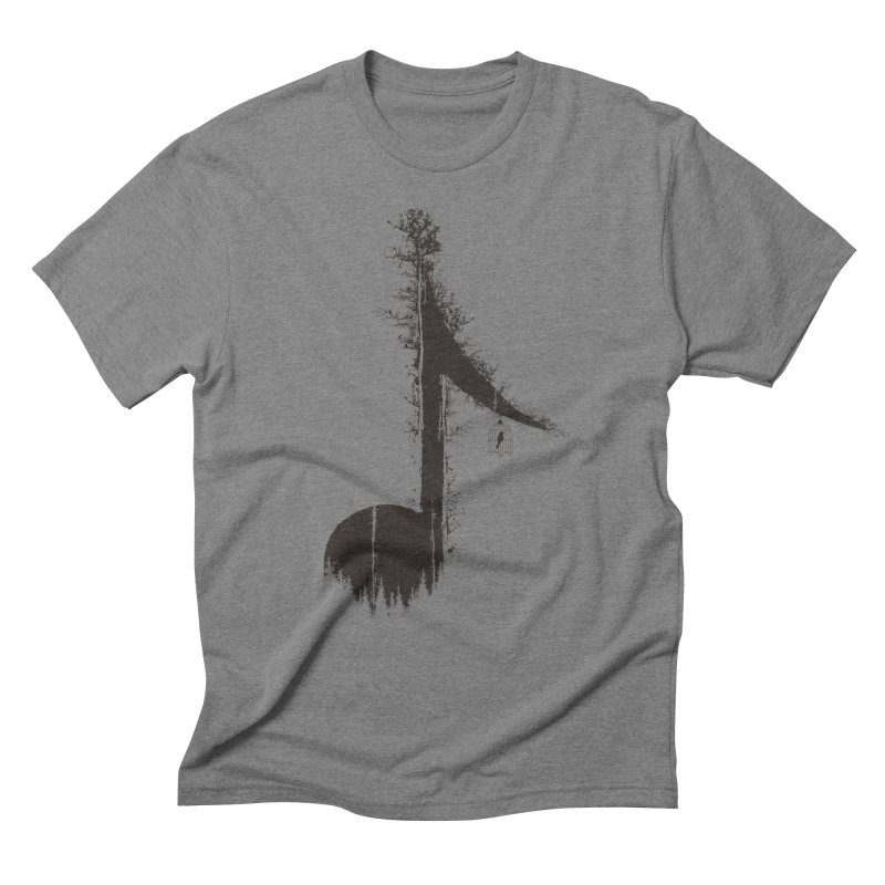 Nature has music for those who listen Men's Triblend T-Shirt by YANMOS