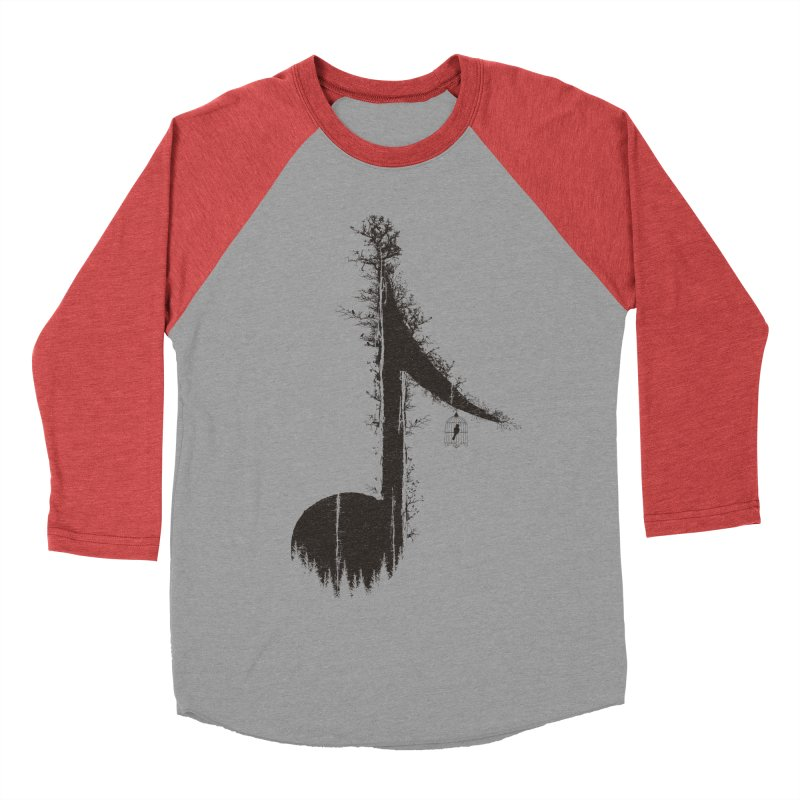 Nature has music for those who listen Women's Baseball Triblend T-Shirt by YANMOS