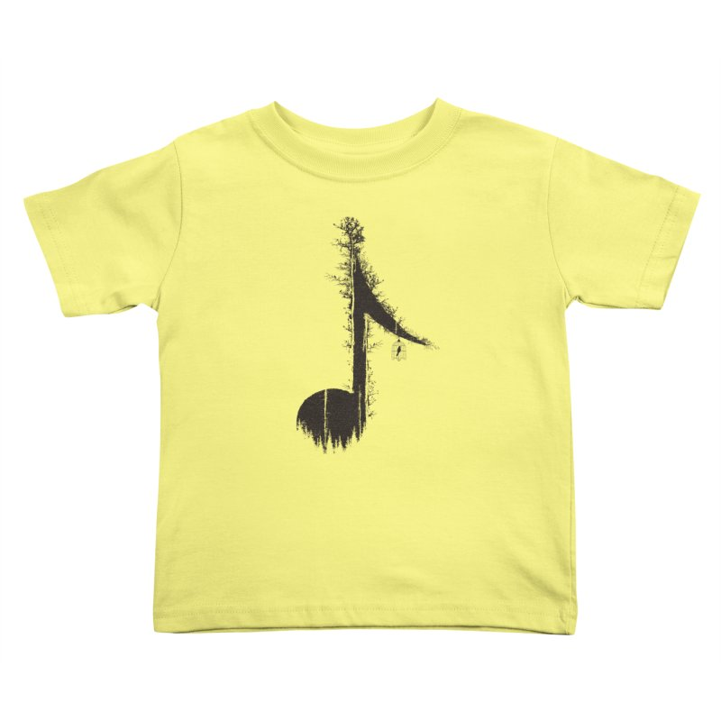 Nature has music for those who listen Kids Toddler T-Shirt by YANMOS