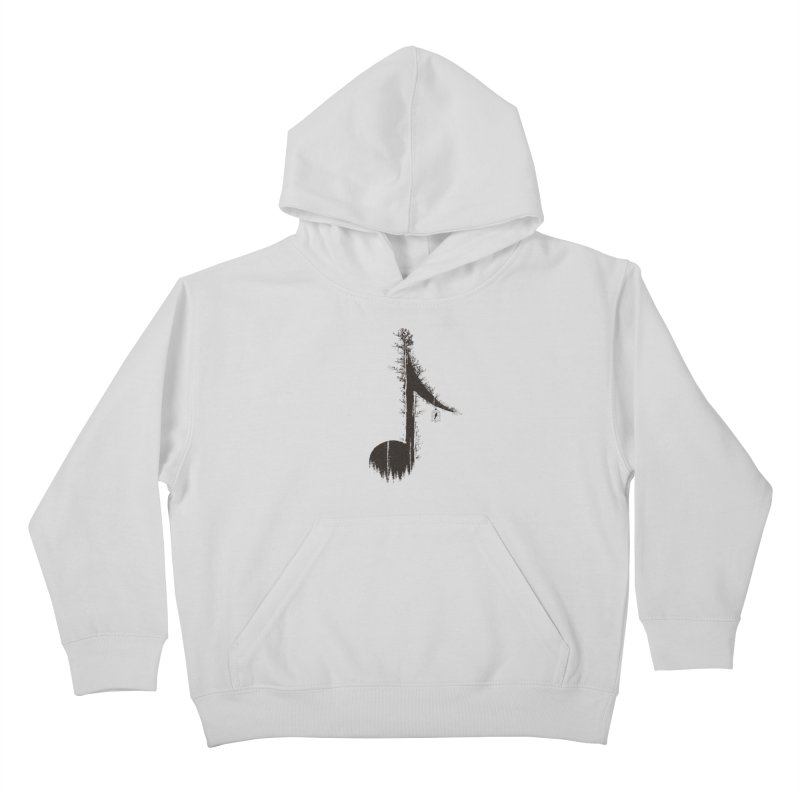 Nature has music for those who listen Kids Pullover Hoody by YANMOS