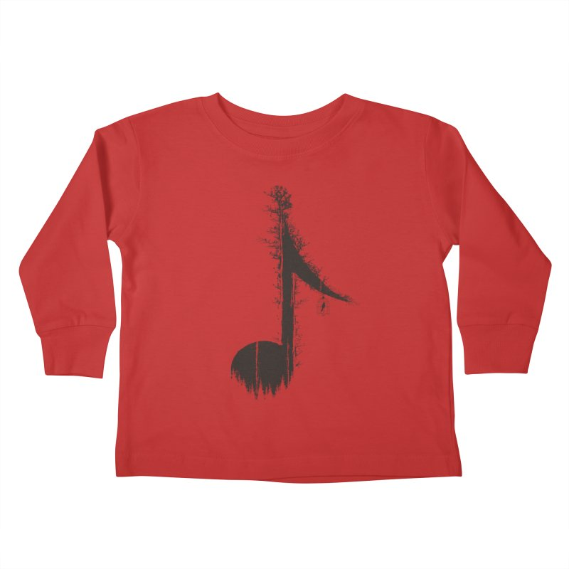Nature has music for those who listen Kids Toddler Longsleeve T-Shirt by YANMOS