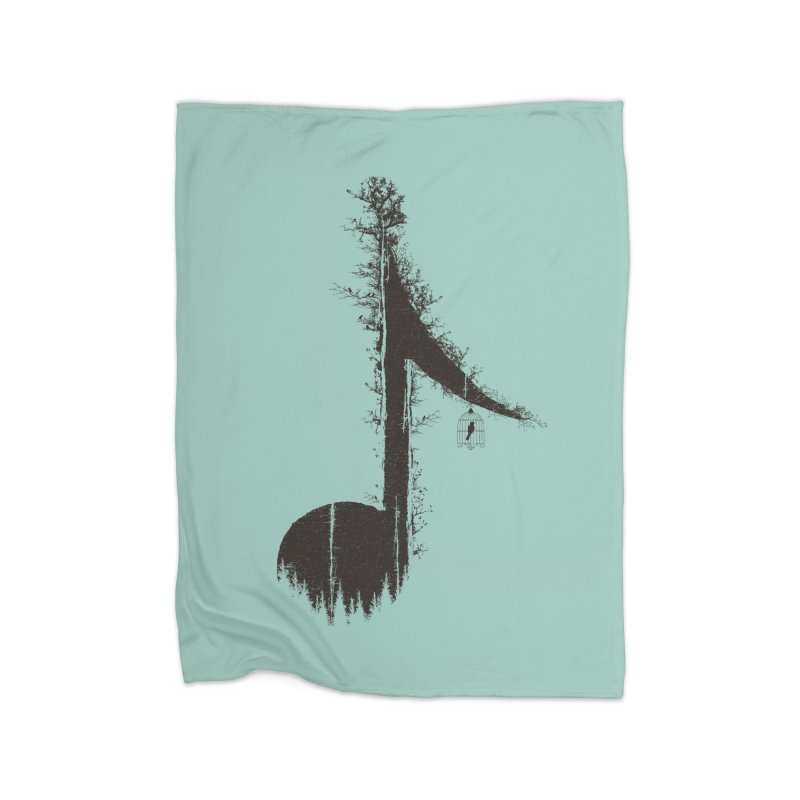 Nature has music for those who listen Home Blanket by YANMOS