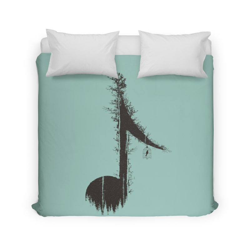 Nature has music for those who listen Home Duvet by YANMOS