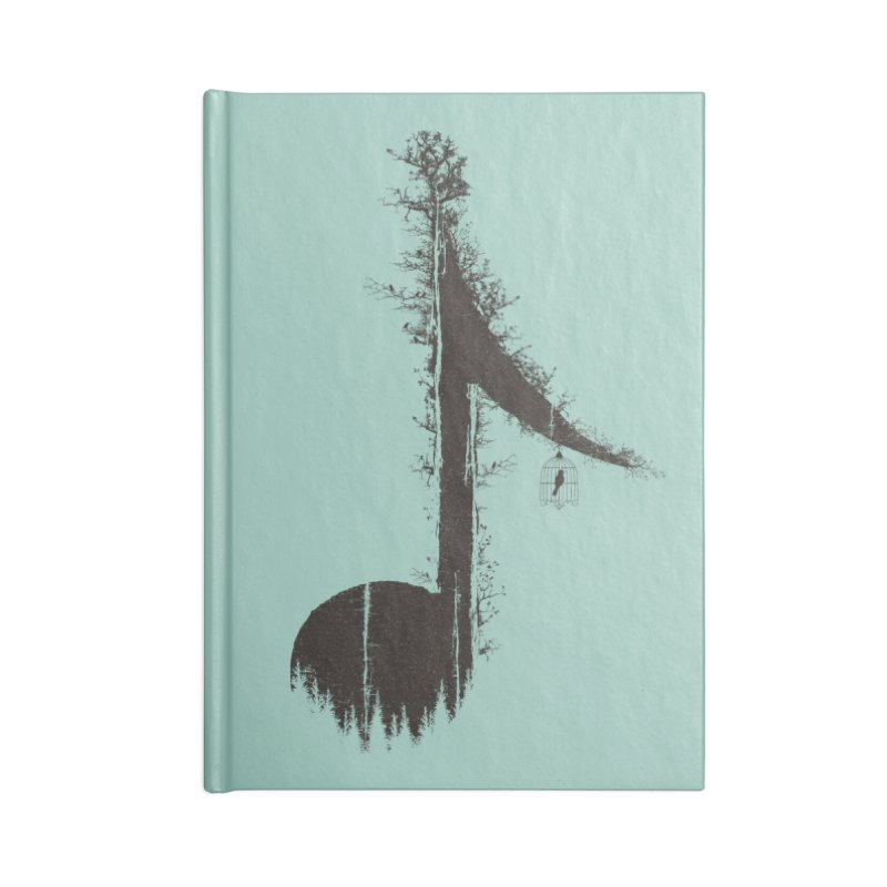 Nature has music for those who listen Accessories Notebook by YANMOS