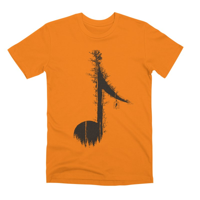 Nature has music for those who listen Men's Premium T-Shirt by YANMOS