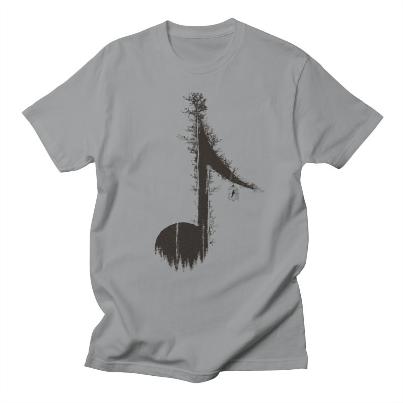Nature has music for those who listen Men's Regular T-Shirt by YANMOS