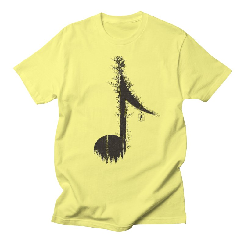 Nature has music for those who listen Women's Regular Unisex T-Shirt by YANMOS