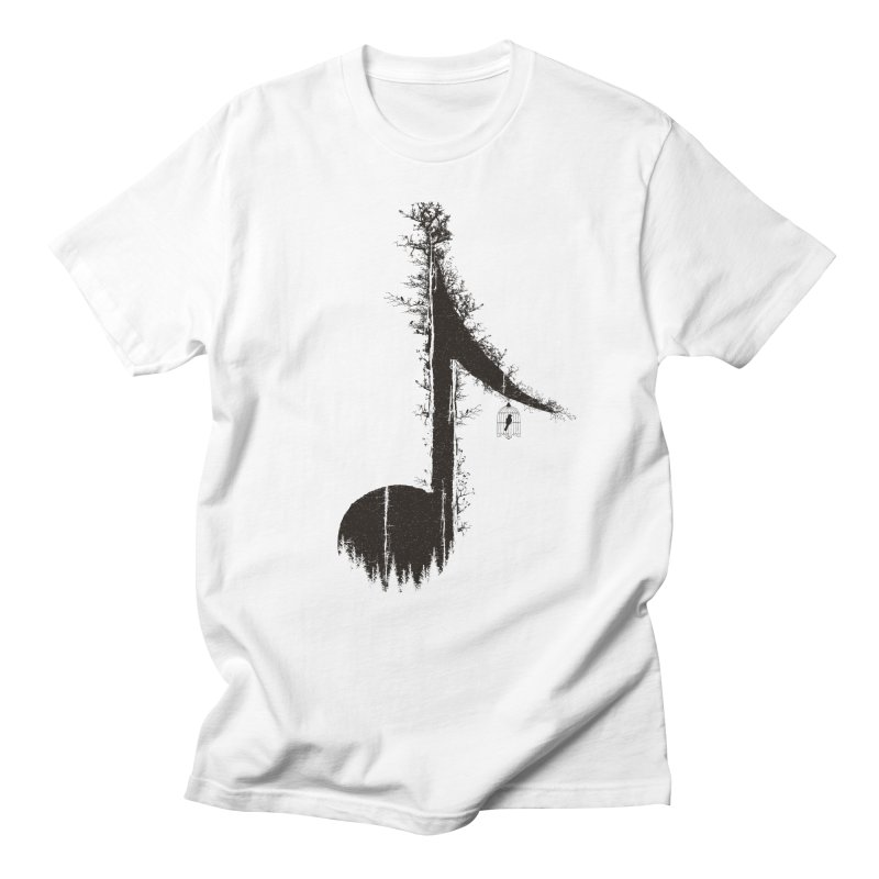 Nature has music for those who listen Men's T-Shirt by YANMOS