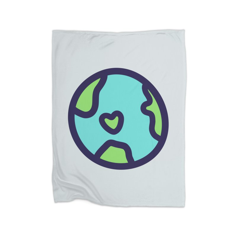 Planet Earth Home Blanket by YANMOS
