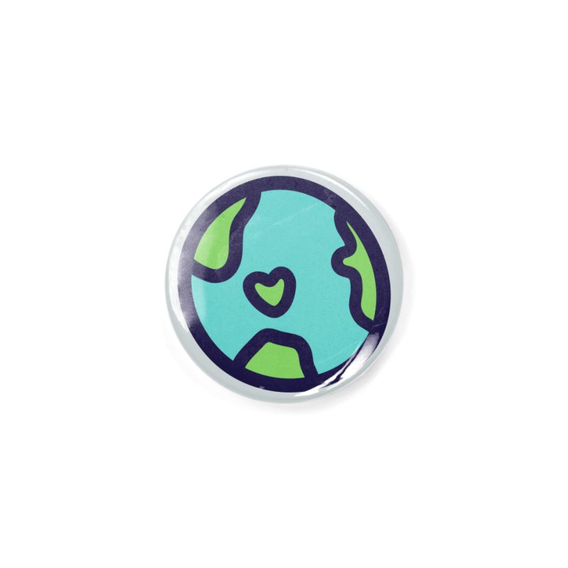 Planet Earth Accessories Button by YANMOS