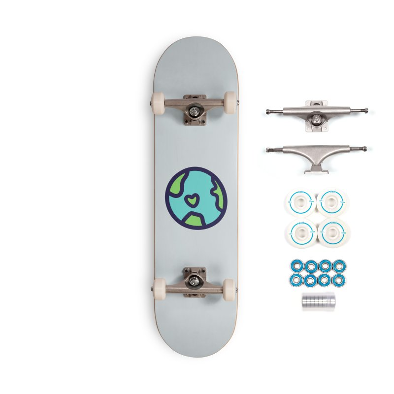 Planet Earth Accessories Complete - Basic Skateboard by YANMOS