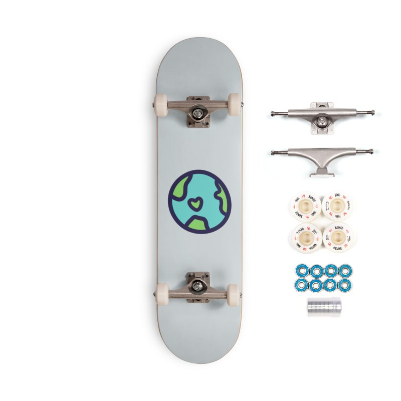 Planet Earth Accessories Complete - Premium Skateboard by YANMOS