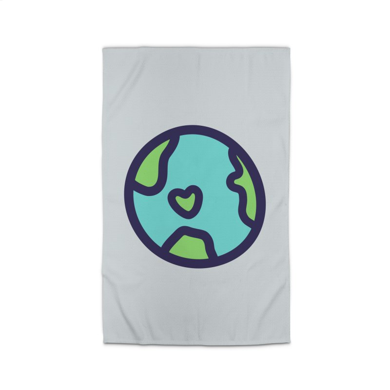 Planet Earth Home Rug by YANMOS