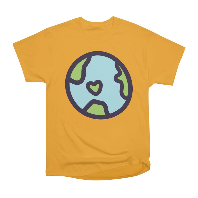 Planet Earth Women's Classic Unisex T-Shirt by YANMOS