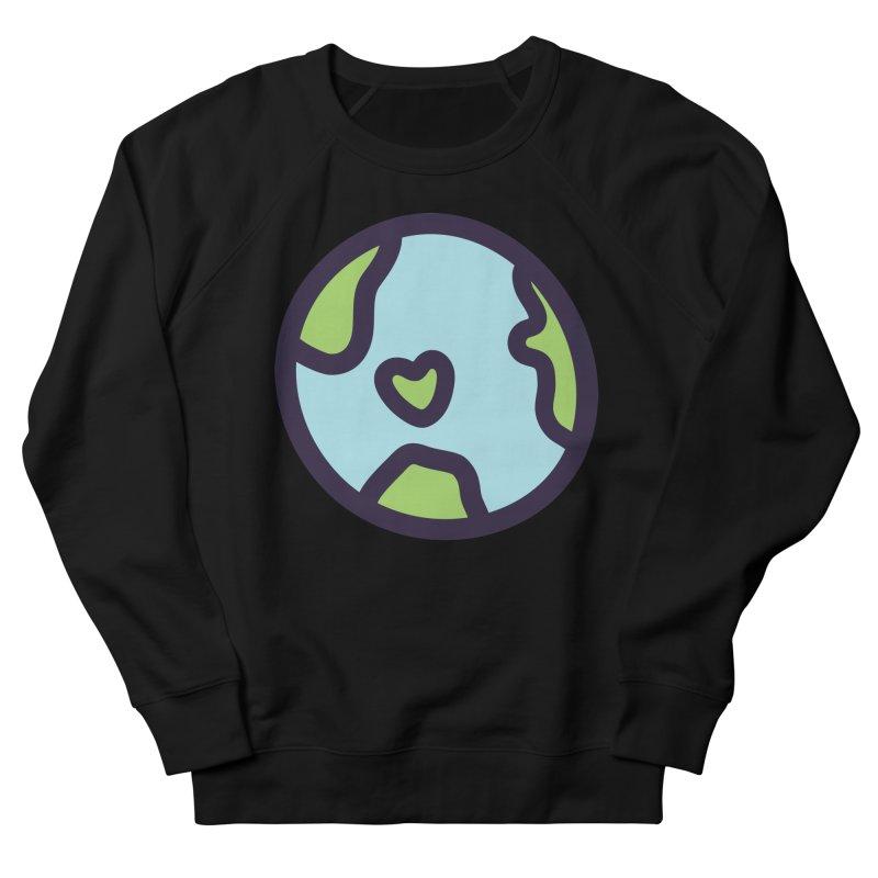 Planet Earth Men's Sweatshirt by YANMOS