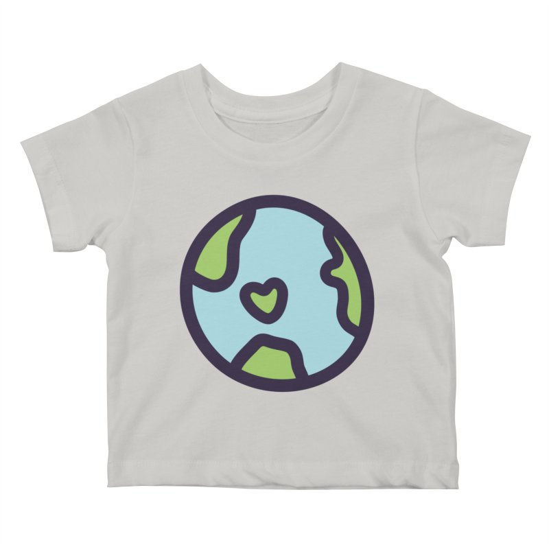 Planet Earth Kids Baby T-Shirt by YANMOS