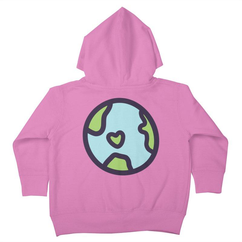 Planet Earth Kids Toddler Zip-Up Hoody by YANMOS
