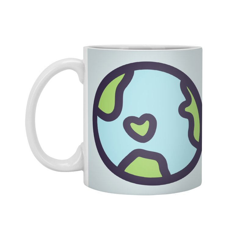 Planet Earth Accessories Mug by YANMOS
