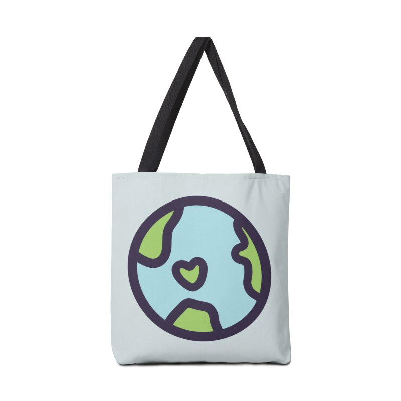 Planet Earth Accessories Bag by YANMOS
