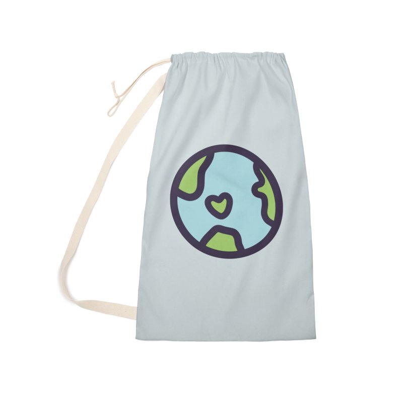 Planet Earth Accessories Laundry Bag Bag by YANMOS