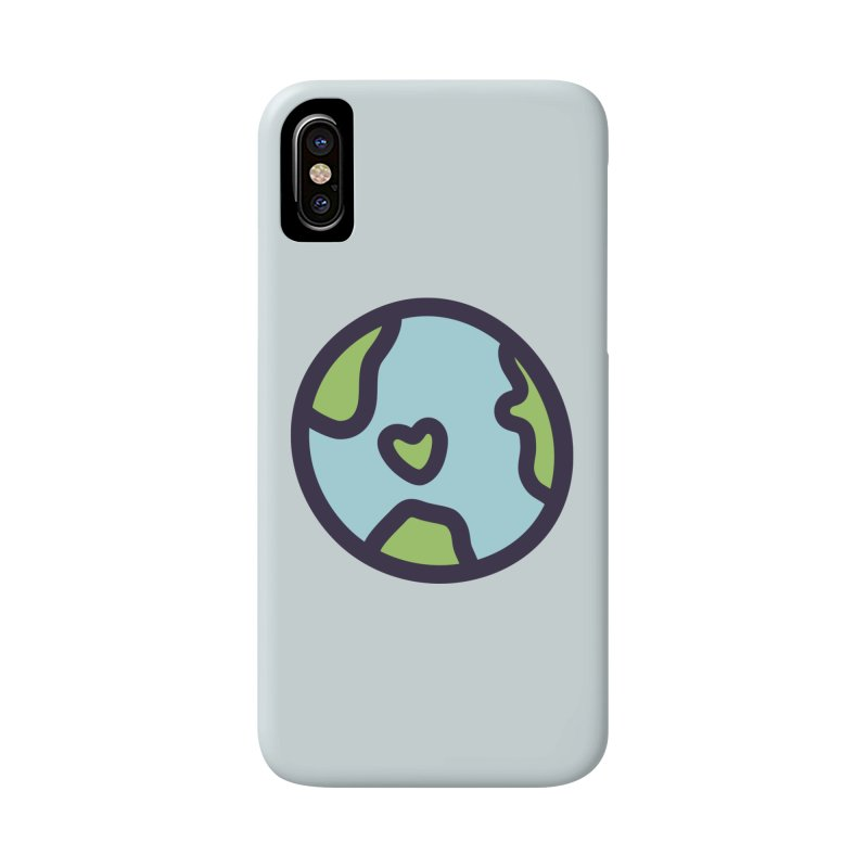 Planet Earth Accessories Phone Case by YANMOS