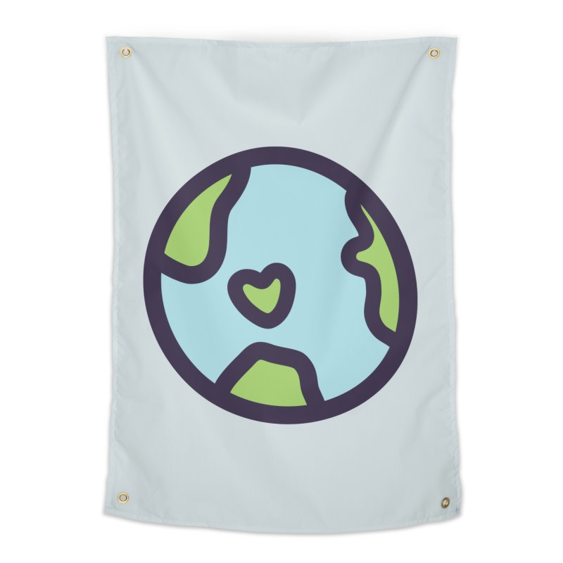 Planet Earth Home Tapestry by YANMOS