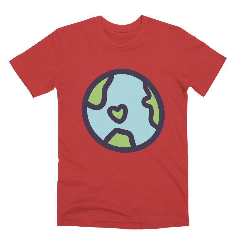 Planet Earth Men's Premium T-Shirt by YANMOS
