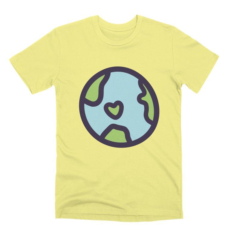 Planet Earth Men's Premium T-Shirt by YANMOS