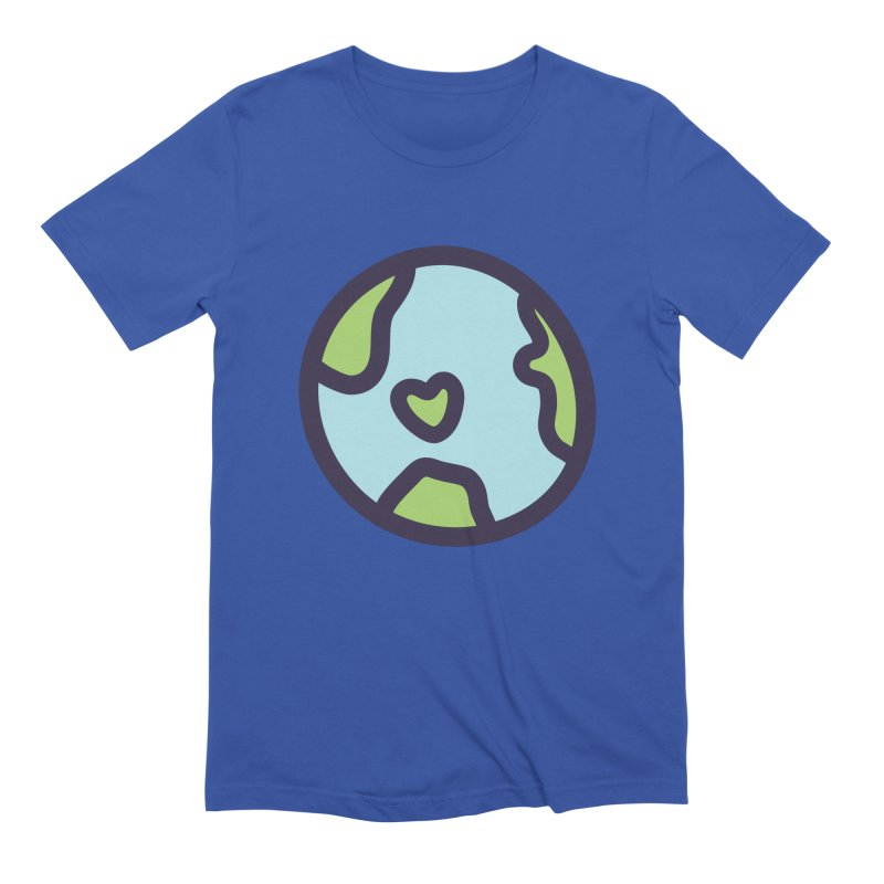 Planet Earth Men's Extra Soft T-Shirt by YANMOS