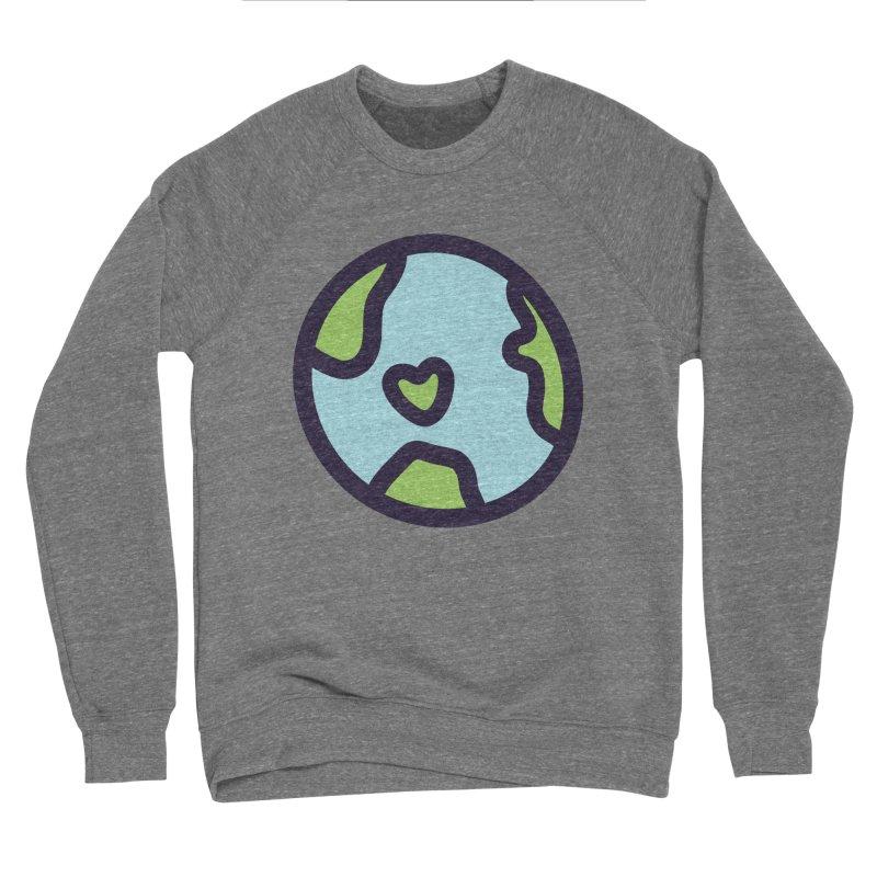 Planet Earth Men's Sponge Fleece Sweatshirt by YANMOS