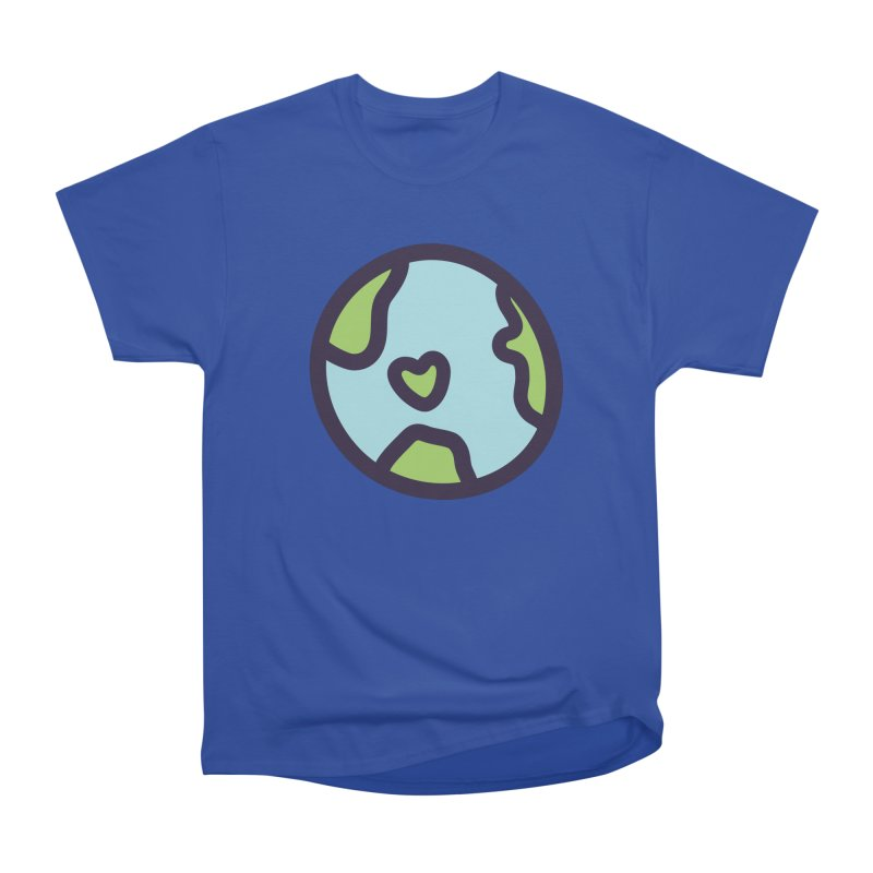 Planet Earth Women's Heavyweight Unisex T-Shirt by YANMOS