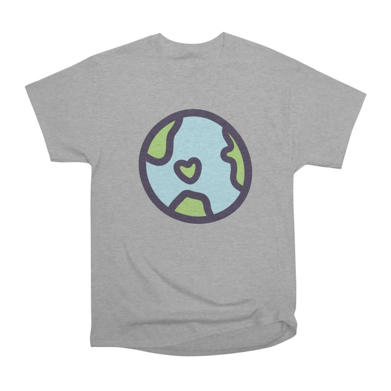 Planet Earth Men's Heavyweight T-Shirt by YANMOS