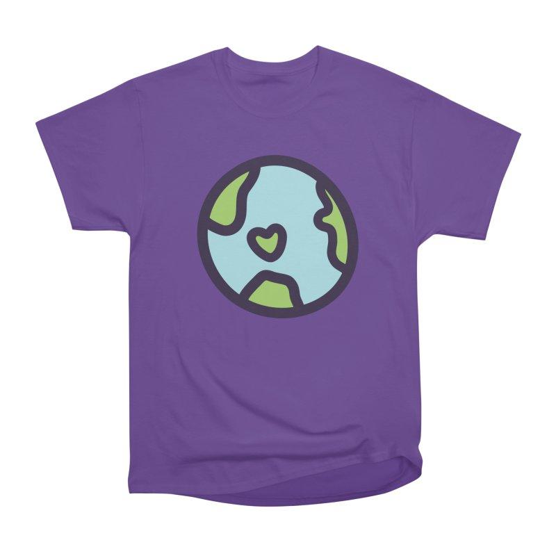 Planet Earth Men's Heavyweight T-Shirt by YANMOS