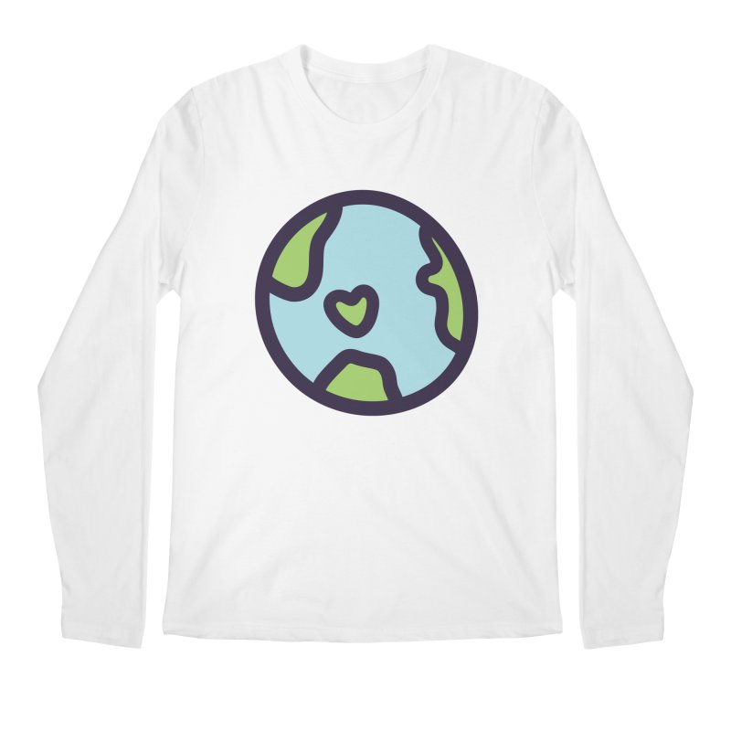 Planet Earth Men's Longsleeve T-Shirt by YANMOS