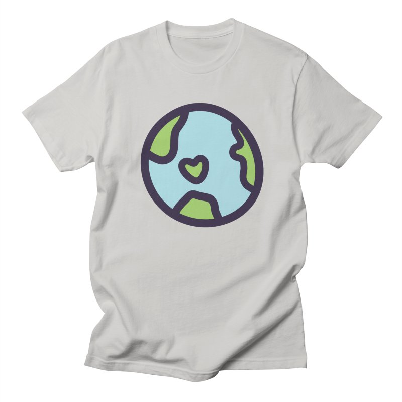 Planet Earth Men's Regular T-Shirt by YANMOS