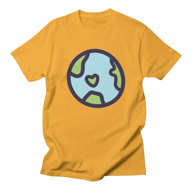 Planet Earth Women's Regular Unisex T-Shirt by YANMOS
