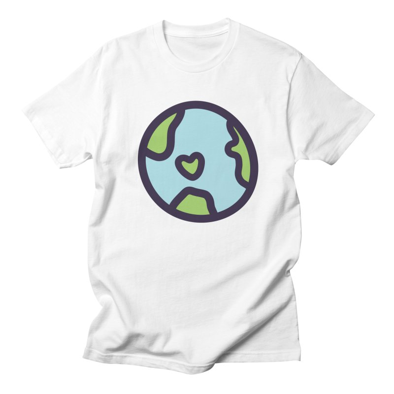 Planet Earth Men's Regular T-Shirt by YANMOS