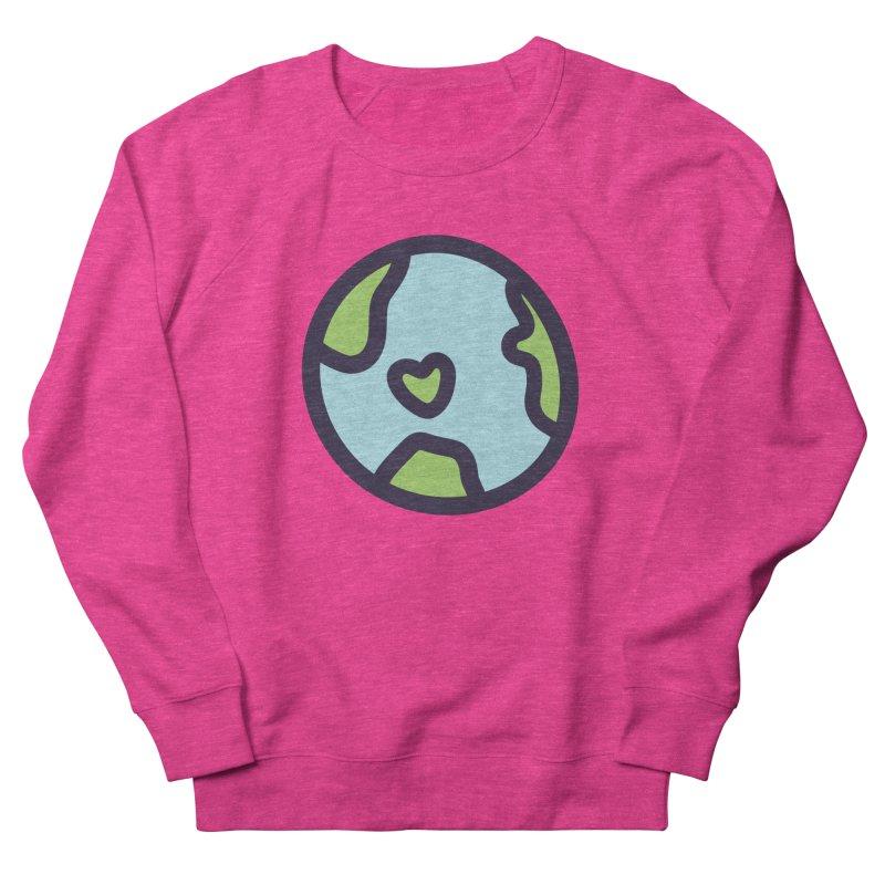 Planet Earth Women's Sweatshirt by YANMOS