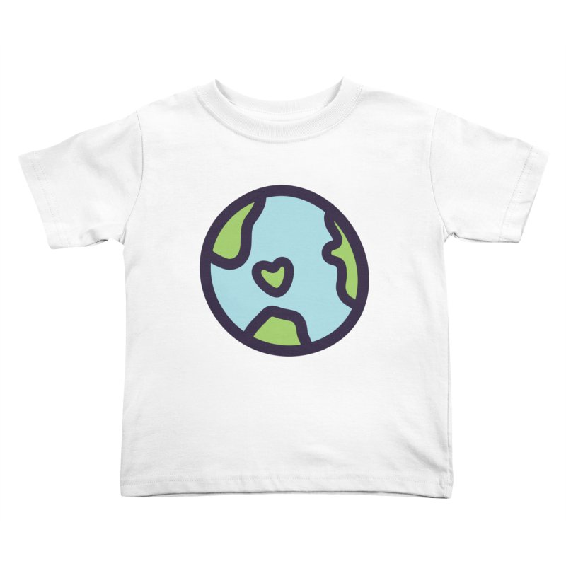 Planet Earth Kids Toddler T-Shirt by YANMOS