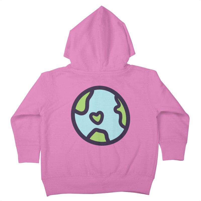 Planet Earth Kids Toddler Zip-Up Hoody by YANMOS