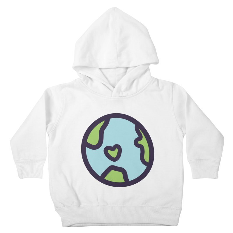 Planet Earth Kids Toddler Pullover Hoody by YANMOS