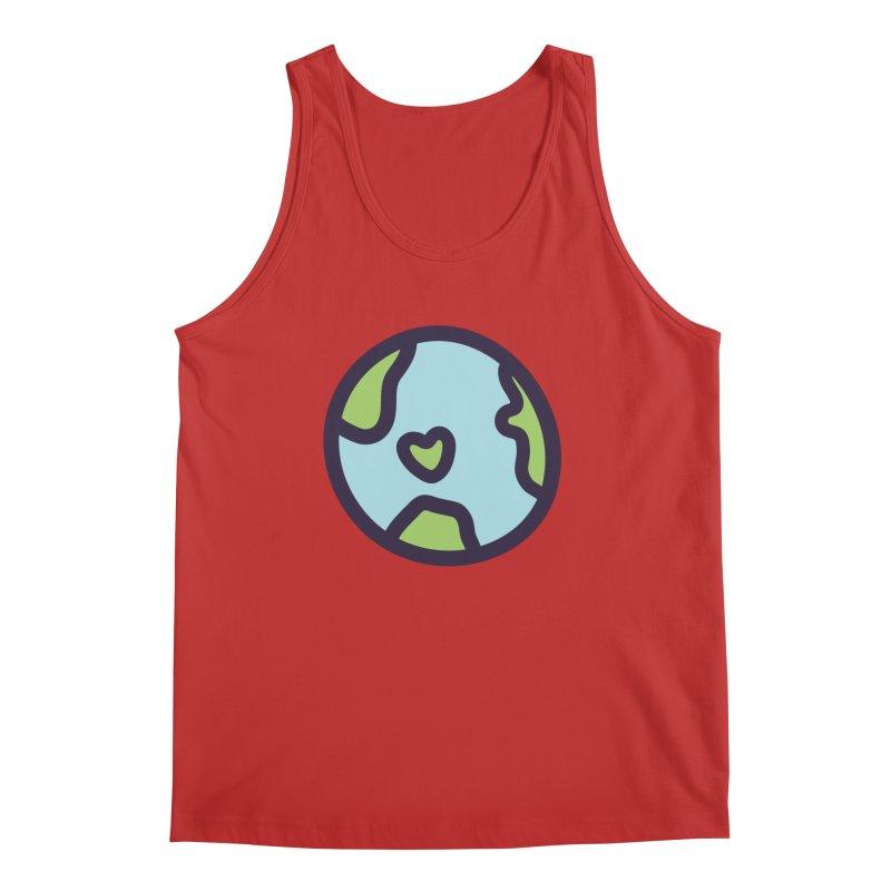 Planet Earth Men's Regular Tank by YANMOS