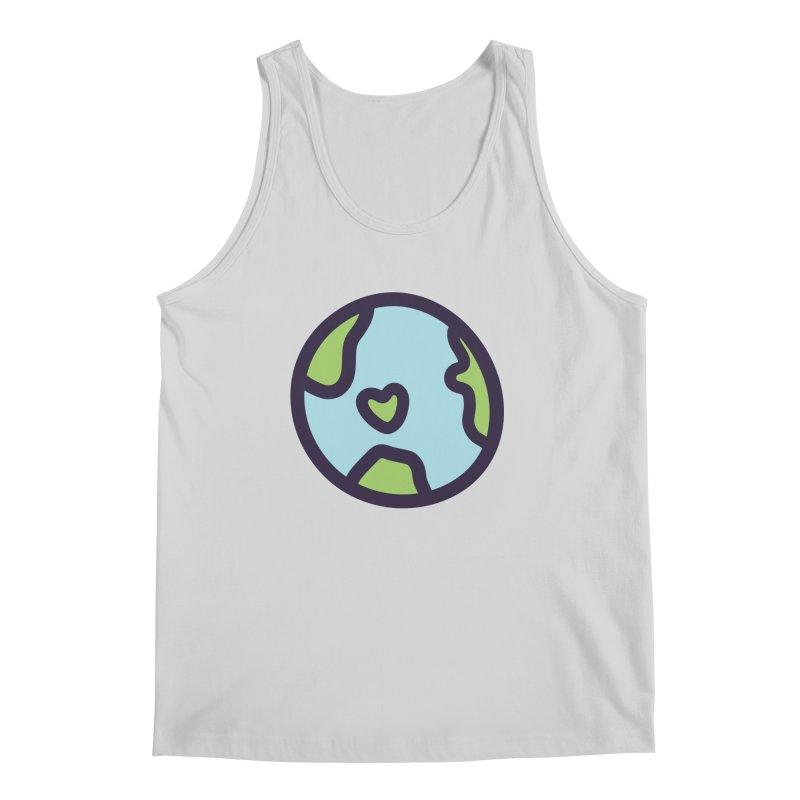 Planet Earth Men's Tank by YANMOS