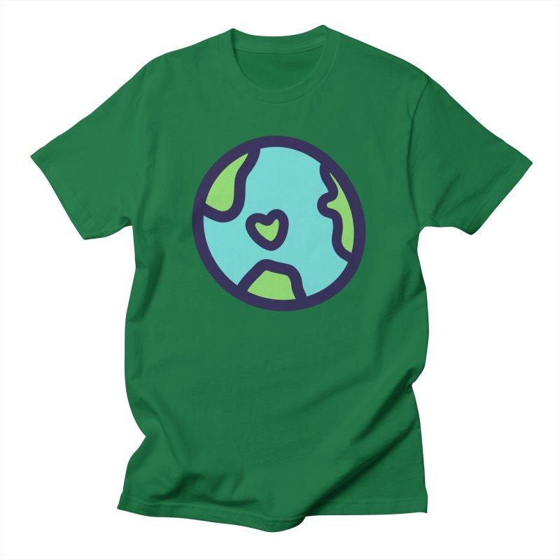 Planet Earth Men's T-Shirt by YANMOS