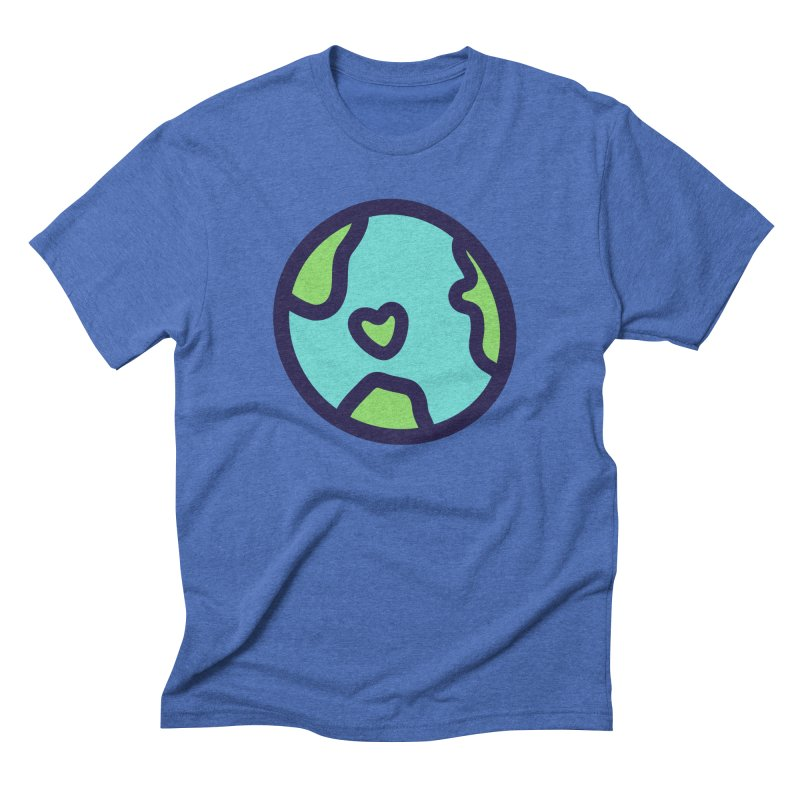 Planet Earth Men's T-Shirt by YANMOS