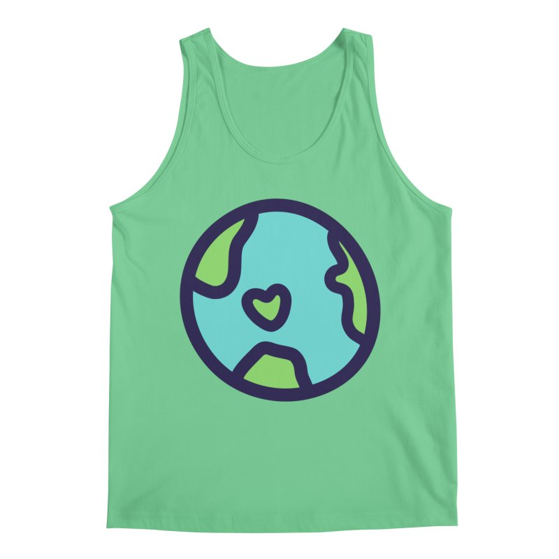 Planet Earth Men's Tank by YANMOS