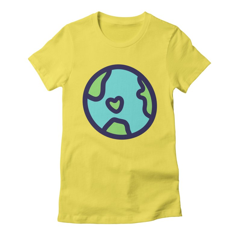 Planet Earth Women's T-Shirt by YANMOS