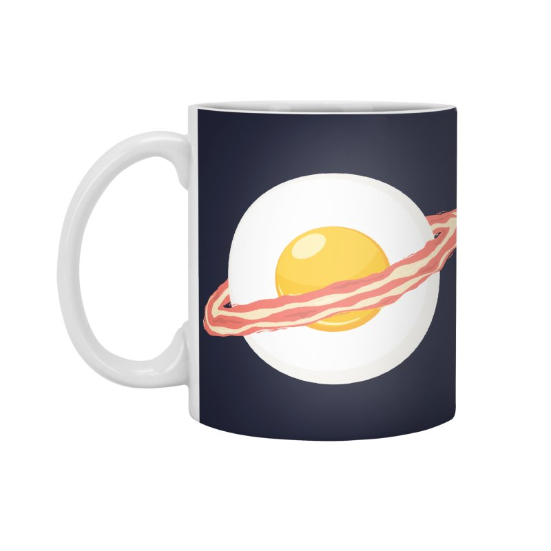 Outer space breakfast Accessories Mug by YANMOS