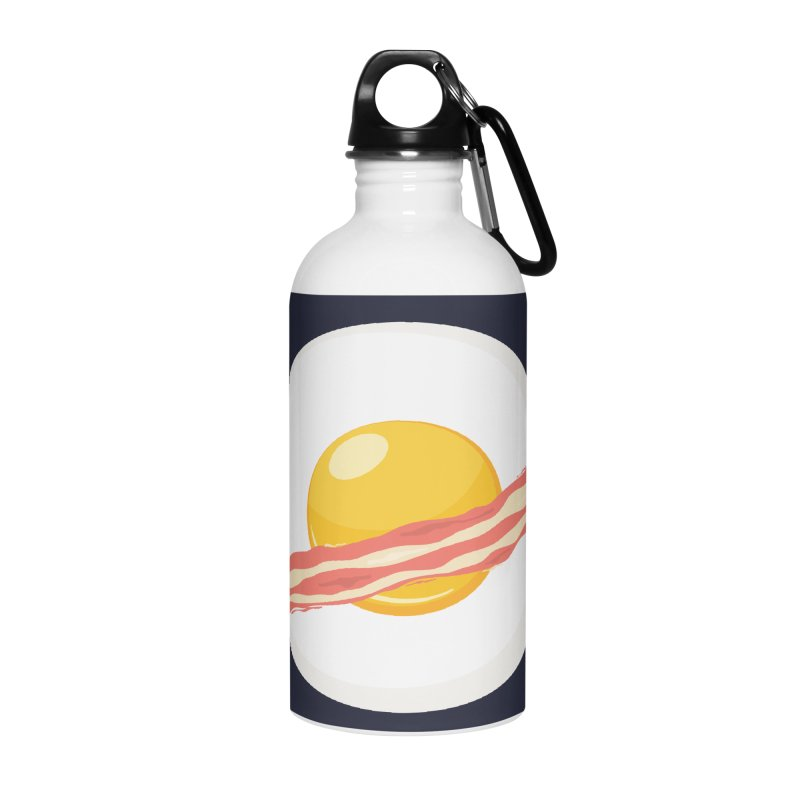 Outer space breakfast Accessories Water Bottle by YANMOS