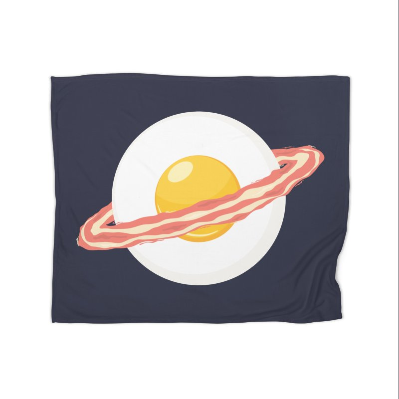 Outer space breakfast Home Blanket by YANMOS